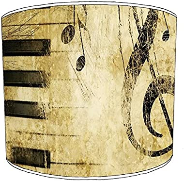 30,5cm plafond vintage sheet music print abat-jour 1