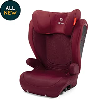 Diono Monterey 4 DXT Latch, The Original Expandable Booster Seat, 40-120 lbs, Plum