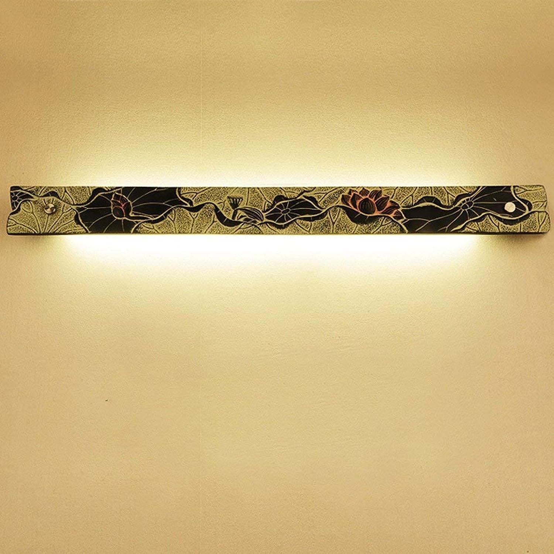 YWJWJ Moderne Spiegel Front Tracks Kreative Lampe Klassische Wandleuchte Bad Wohnzimmer Wohnzimmer Kosmetikspiegelschrank Retro