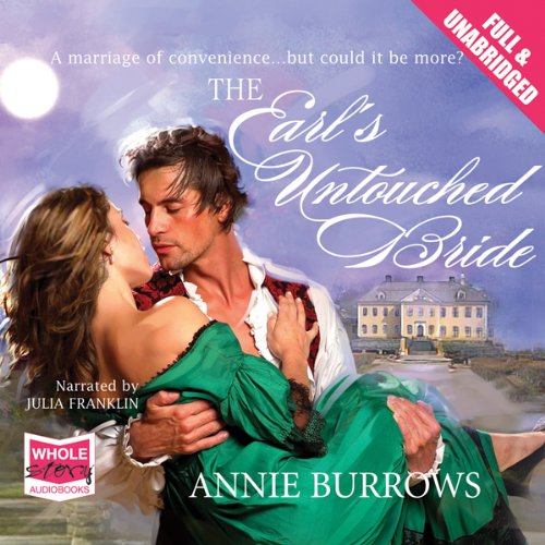 The Earl's Untouched Bride audiobook cover art