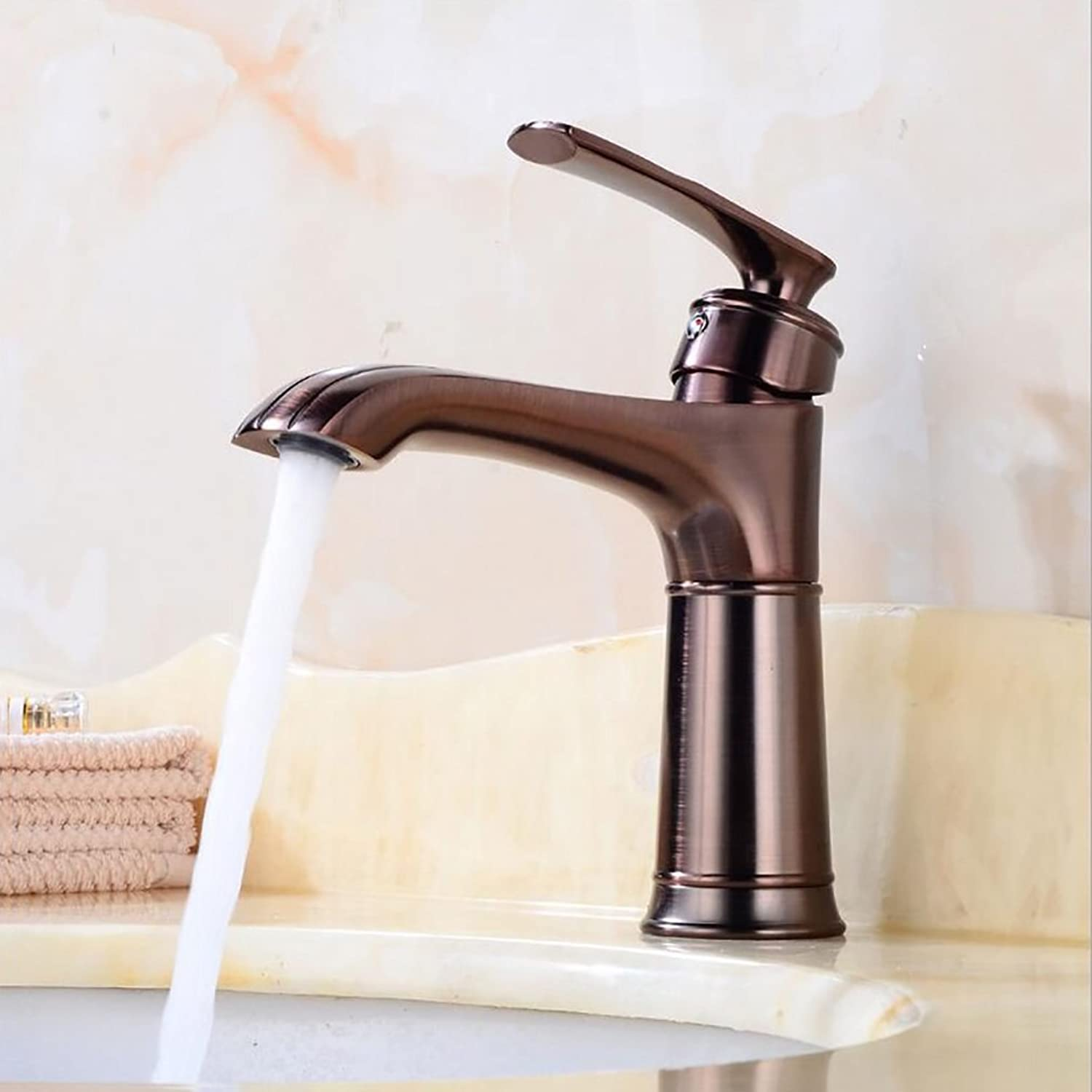 Bathroom accessories, easy to use and user-friendl Taps,European Style Basin Tap ,Bathroom Counter Basin Faucet,Hot And Cold Single Hole Mixer Taps XIAHE