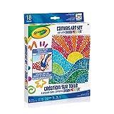 Crayola Canvas Art Set - Use with Crayon Melter - Pixel Art