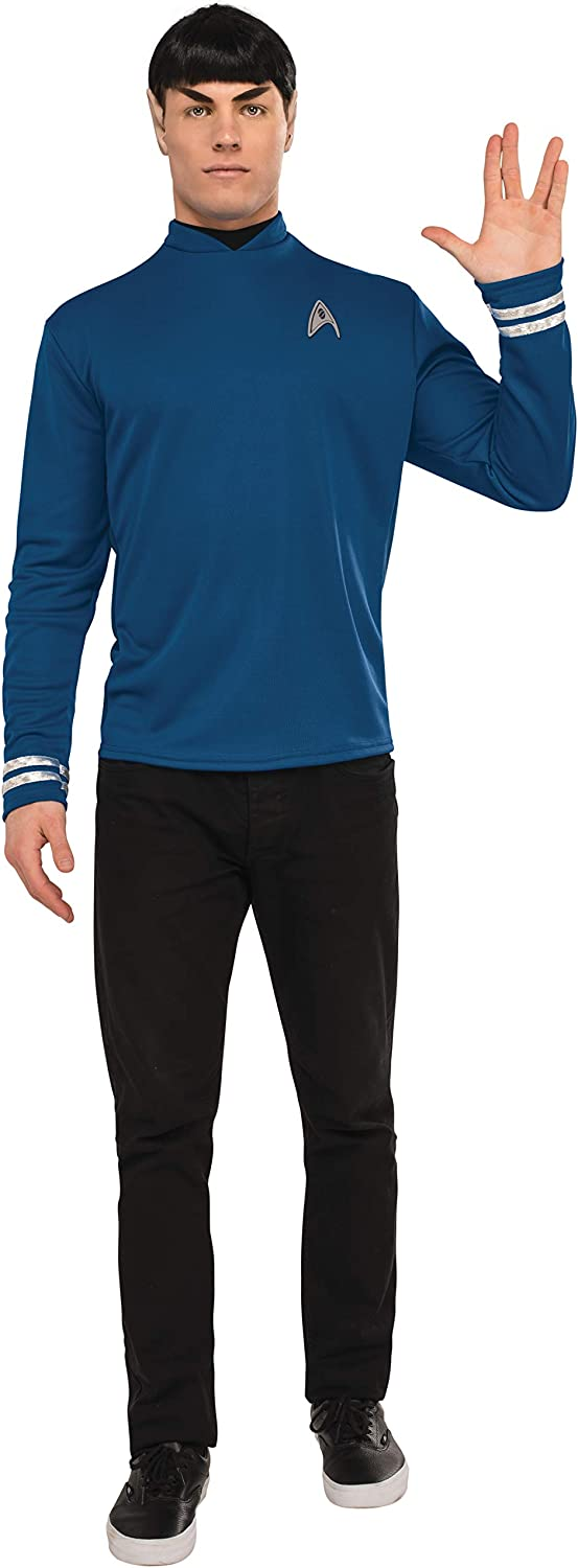 free shipping Rubie's Men's Star Trek: Beyond sold out Shirt Spock Costume Deluxe