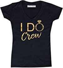 Promotion & Beyond Wedding Bachelorette Party (Gold) Women's V-Neck