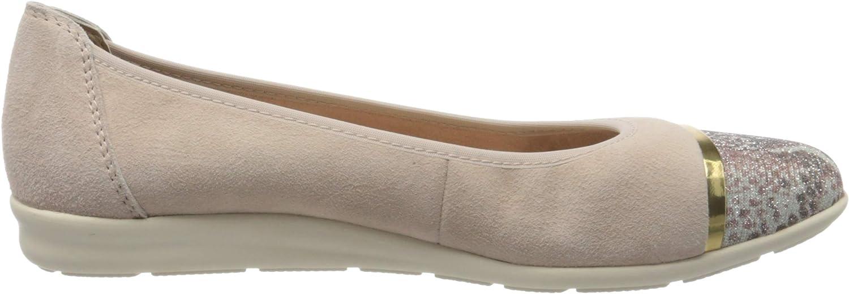 MARCO TOZZI Womens 2-2-22130-34 Ballet Flats