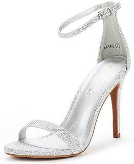350b75efdb38 DREAM PAIRS Women s Karrie High Stiletto Pump Heel Sandals