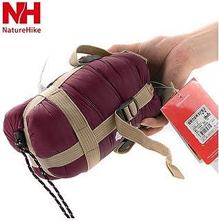 【全4カラー】 軽量 封筒型 シュラフ 寝袋 キャンプ アウトドア 並行輸入品 (ワイン)