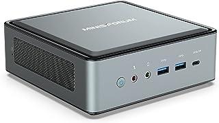 MINISFORUM HM50ミニPC AMD Ryzen 5 4500U 6C/6T 小型デスクトップpc Windows 10 Pro DDR4 16GB 512GB PCIe SSD 1000M/2500M LAN BT5.0 AMD R...