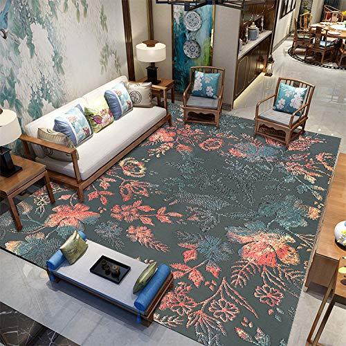 Bodenteppich Super Weich Für Schlafzimmer Sofa Wohnzimmer Haushalt rutschfeste Flauschige Plüschdecke Design Multi Farben 120x160cm 60X90CM