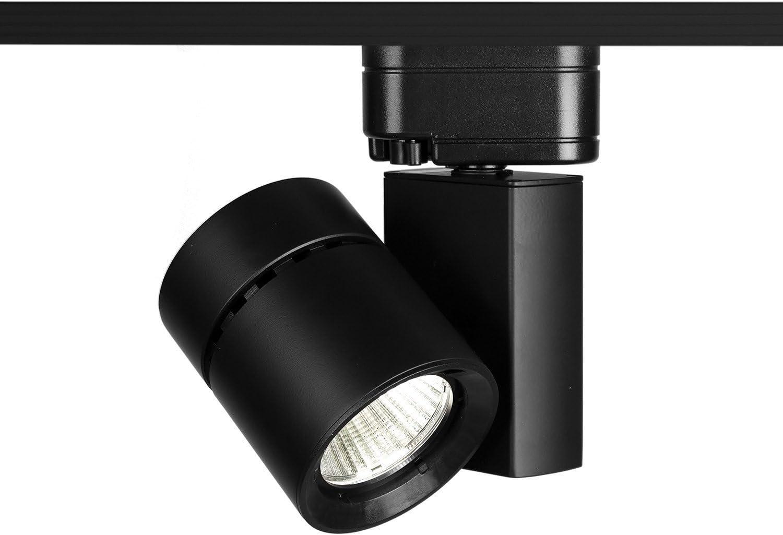 WAC Lighting L-1035F-827-BK Exterminator II LED Energy Star Track Fixture Black
