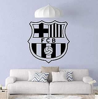 JiuJiu.YanCo,Ltd Beauty FCB Football Nursery Wall Stickers Vinyl Art Decals Living Room Children Room Removable Decor Wall Decals 43x43cm