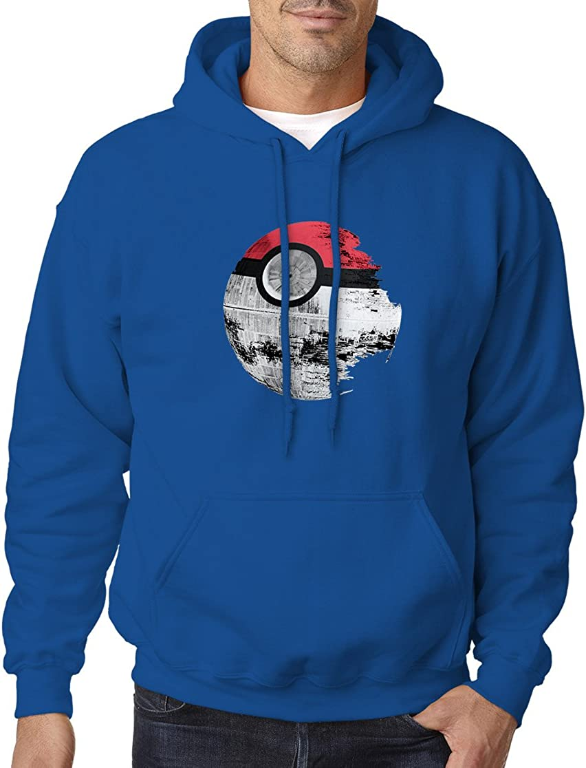 BBT Adult Over item handling ☆ Pokemon Star Wars Hooded Sweatshirt Hoodie Death gift