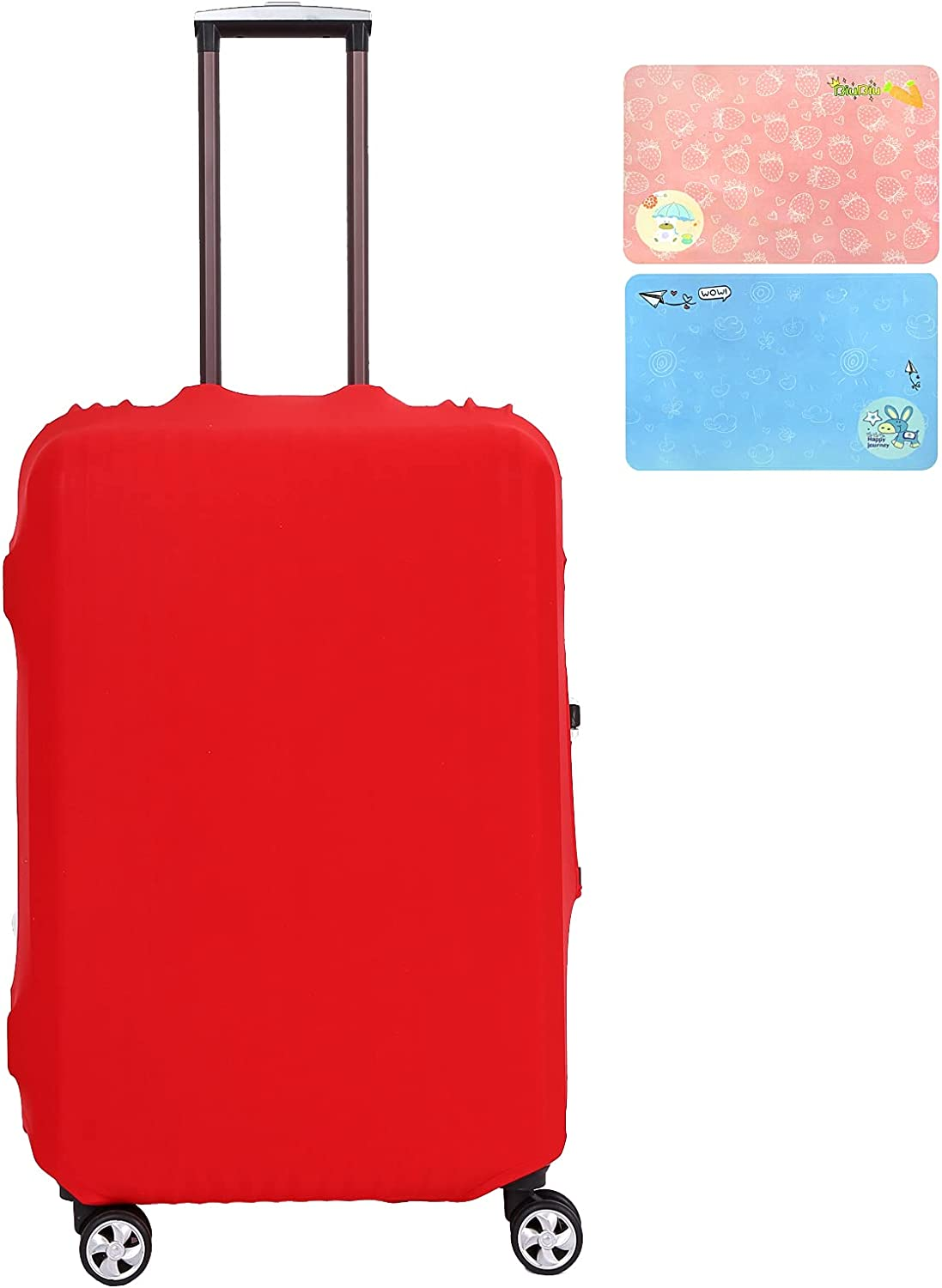 Luggage Cover Withstand Washington Mall Dallas Mall Dust Fits Protector Washable 26