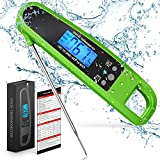 Best Food Thermometers - Powlakenxs Instant Read Meat Thermometer for Kitchen Cooking Review
