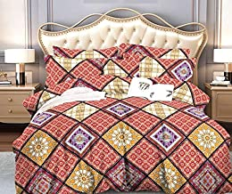 Sponsored Ad – Comforter Set, Colourful Attractive Design, CAN, Luxury Bed In A Bag, 300GSM Hollowfiber Wadding Sheet,120 ...