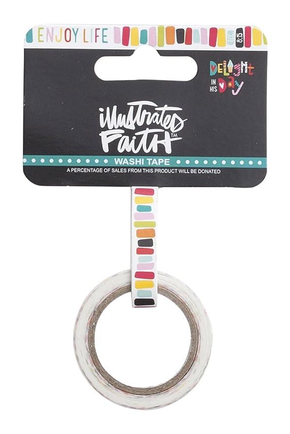Illustrated Faith - Washi Tape - Colorful Stripes