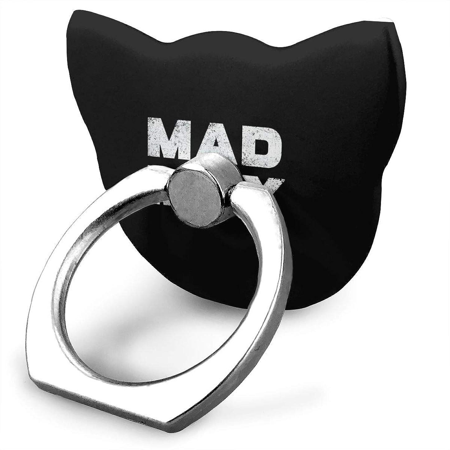 インカ帝国香港封筒マッドマックス 怒りのデス ロード スマホリング 猫耳 薄型 ネコ型 スマホ りんぐ ホルダー 強吸着力 落下防止 携帯リング 360° 角度調整 IPhone/Android各種他対応