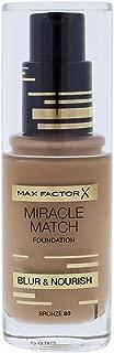 Miracle Match Blur & Nour Foundation Bronze 80