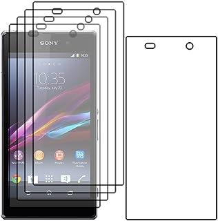 ebestStar - Pack x5 Protector Pantalla Compatible con Sony Xperia Z1 L39H, Sony C6906 Películas Flexibles Anti Huellas Anti arañazos, Instalacion Sin-Burbujas [Aparato: 144 x 74 x 8.5mm, 5.0'']