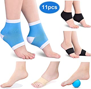 Foot Pain Relief Recovery Kit-Effective Relief from Plantar Fasciitis, Arch Foot Pain,  Bunion Hallux Valgus Feet-11Pcs