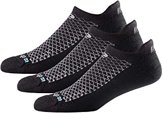 Drymax No Show Running Socks for Men and Women (3-pairs)   Super Breathable Keep Feet Dry, Comfy and Blister-Free