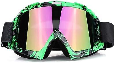 Duokon Motocicleta Motocross Off Road Dirt Bike Racing Gafas Gafas Protección de los ojos(# 3)