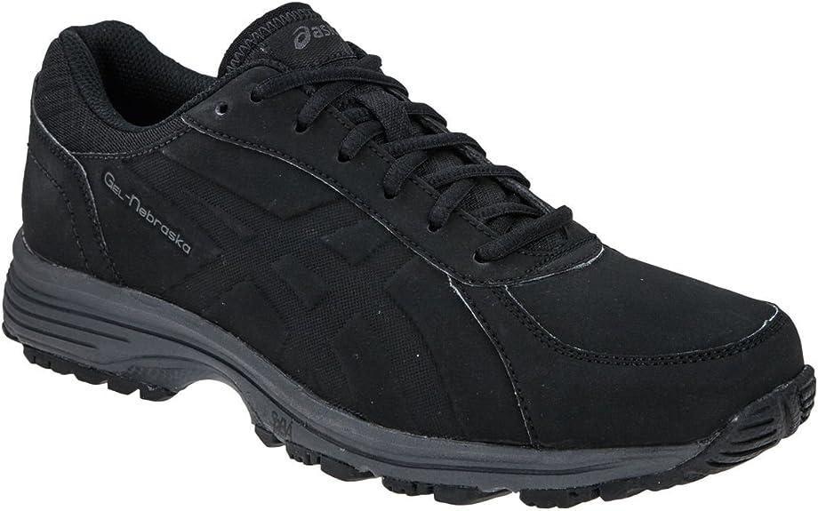 ASICS Gel-Nebraska, Chaussures de Marche Nordique Homme, Noir-Noir ...
