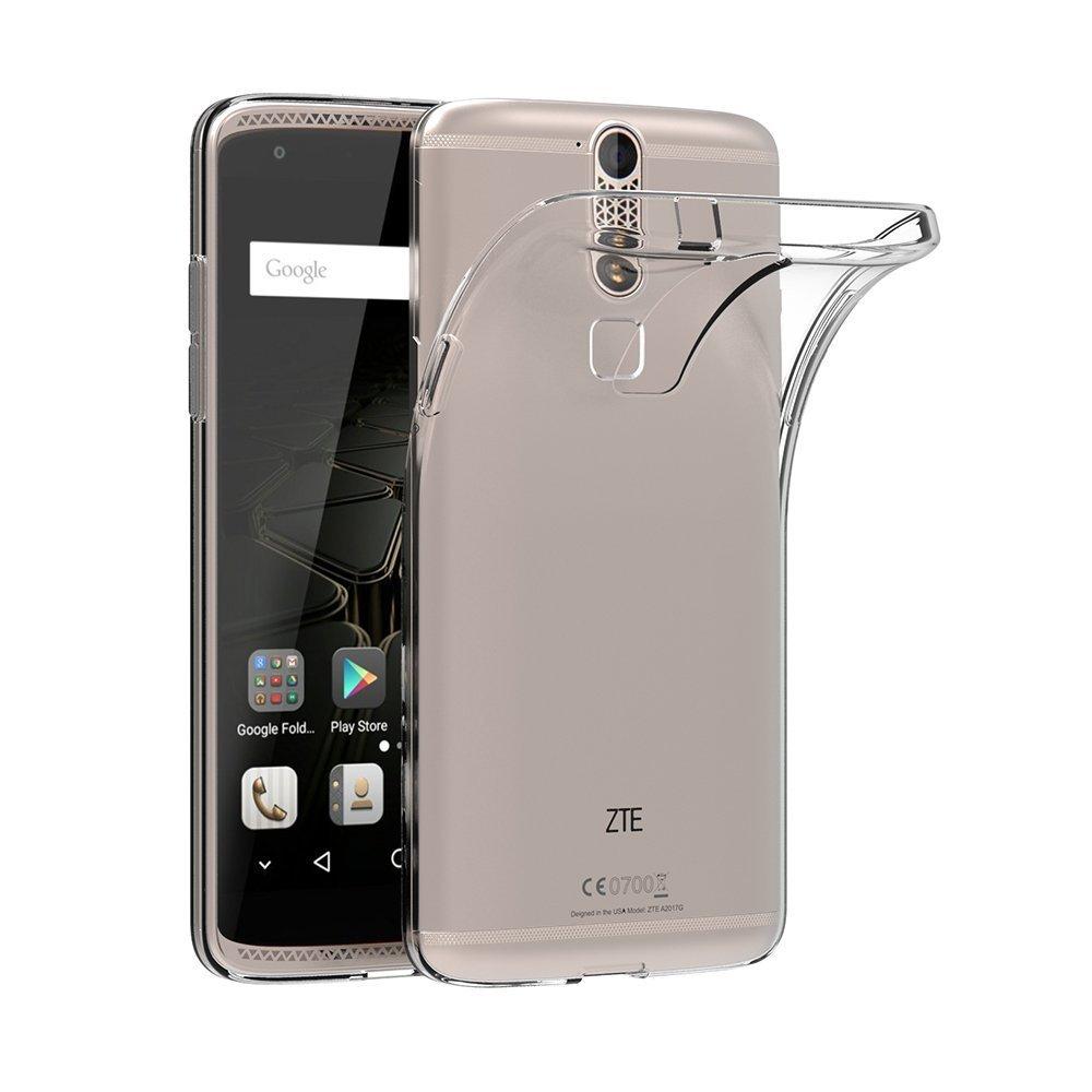 ZTE Axon 7 Mini Funda, ocketcase® TPU Carcasa Suave Silicona ...