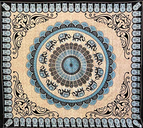 Seamar Toalla cubretodo Arena, 100% algodón, Estampada, 210 x 230 cm