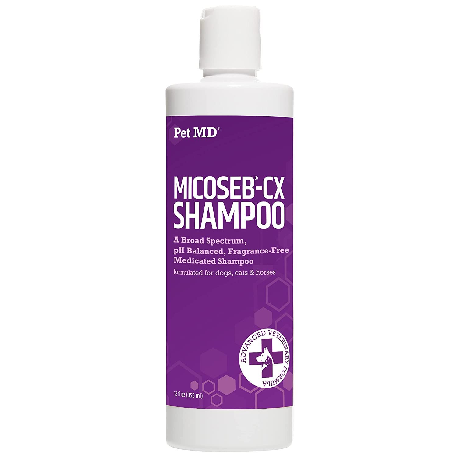 Pet MD Micoseb-CX Medicated Shampoo wit Portland Mall Dogs Cats for Austin Mall Horses