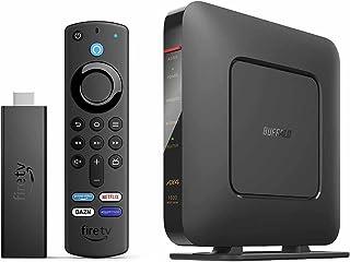 Fire TV Stick 4K Max + Wi-Fi 6 ルーター (ブラック) WSR-1800AX4S/NBK