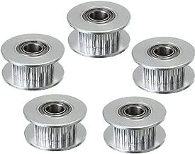 confezione Ukcoco cinghia dentata per stampante 3D 10/m per 6/mm M5/per stampante 3D ruota GT-2,/ruota dentata da 5/mm 20/denti chiave da 10