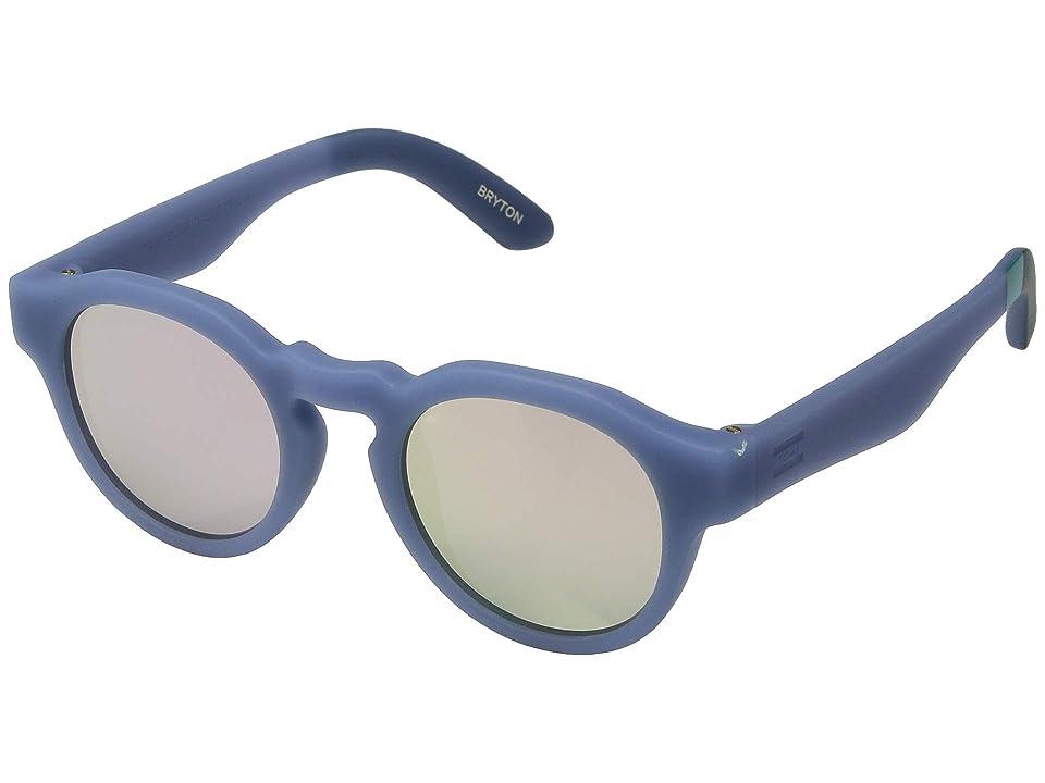 TOMS TRAVELER by TOMS Bryton (Matte Infinity Blue) Fashion Sunglasses