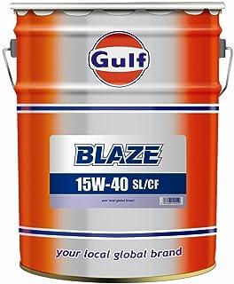 Gulf [ ガルフ ] Gulf BLAZE [ ガルフBLAZE ] 15w40 [ SL-CF ] 鉱物油 [ 20L ]  [HTRC3]
