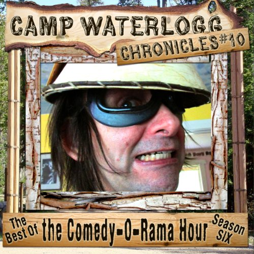 The Camp Waterlogg Chronicles 10 copertina