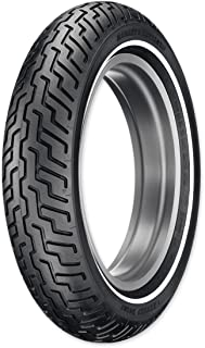 Dunlop D402 MT90B16 Narrow Whitewall Front Tire 45006655