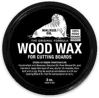 wood cutting board wax