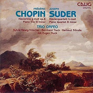 Chopin: Klaviertrio - Suder: Klavierquartett