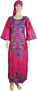 South Africa Ladies Clothes Traditional African Dresses for Women Bazin Riche Headwrap African Plus Size African Print Dress