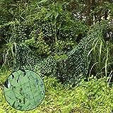 Oarea, red con decoración de camuflaje para casetas de caza, verde, 1x2M(3.3x6.6ft)