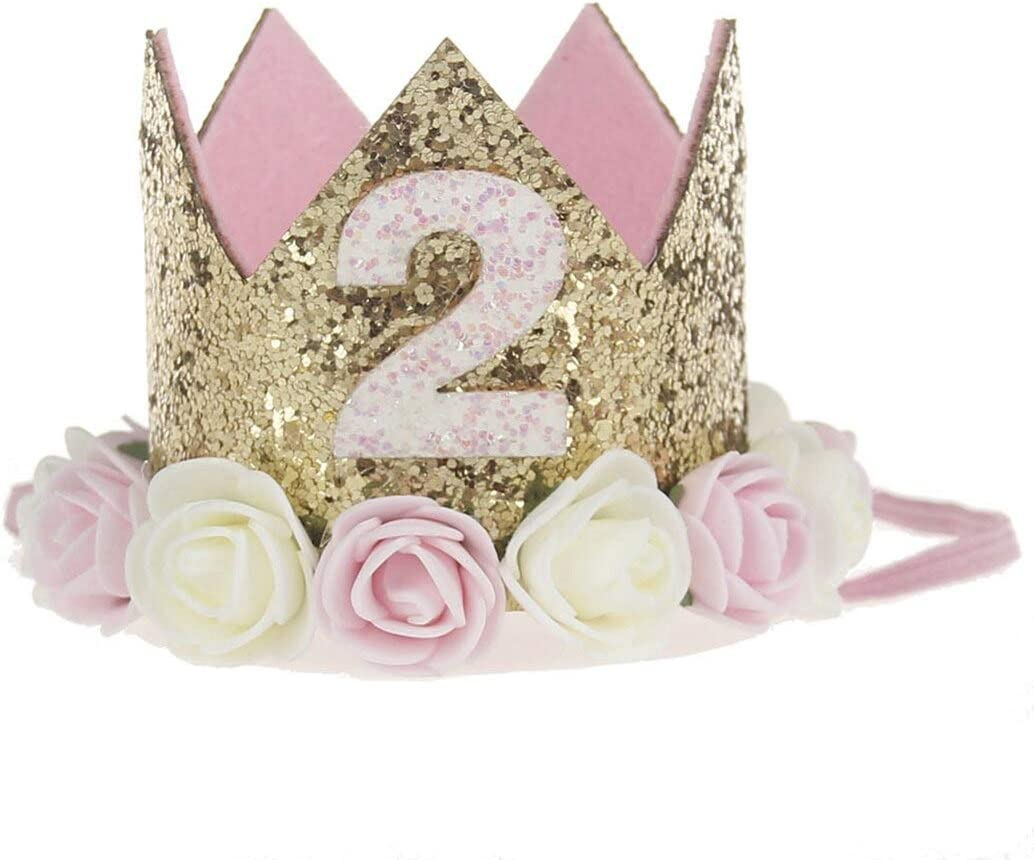 8 12Cm Decor Cap Hat Princess Max 89% Fees free!! OFF Pink2 Pets Crown For