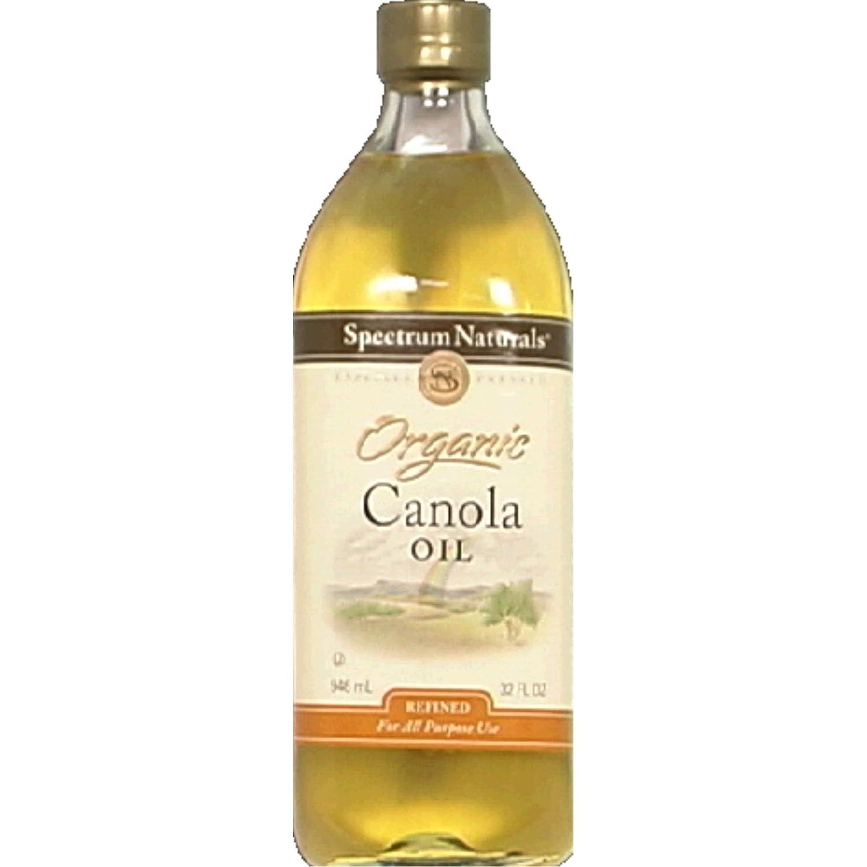 Excellent Spectrum Organic Canola trust Oil oz 32