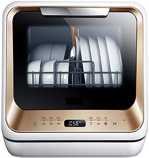 Atten Lavavajillas portátil - encimera Pequeño Secadora Compacta plato for Apartamento, RV, Capacidad Oficina, Cocina-5L Configuración - Blanco
