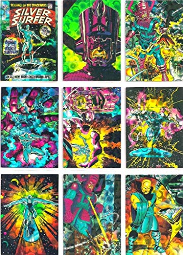 1992 Silver Surfer All-Prism Trading Card Set of 72 Cards NM/M Comic Images, Marvel