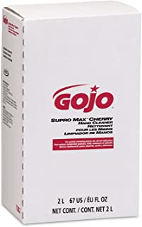 GOJO 2000 ml Refill SUPRO MAX Cherry Scented Hand Cleaner. (4 Each)