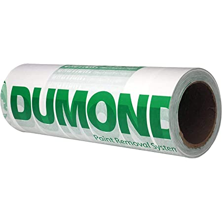 """Dumond Paint Removal Laminated Paper- Speeds up the Paint Removal Process, Controls Lead Paint Emissions, Easy Disposal of Paint Residue, Non-Toxic, Safe (Roll, 13"""" x 300 ft) (1324)"""