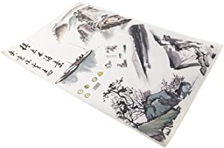 Japanese Art Wall Stickers, Japanese Ink Painting. Big Wall Stickers. Decorate Your Room Asian Mood. Designed in Japan