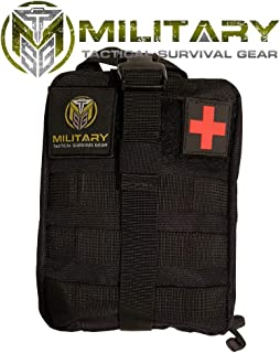 MTSG 2.0 Updated First Aid Kit for Emergency, Camping, Hunting, Hiking, Sports, Home, Car, School, Office, Travel