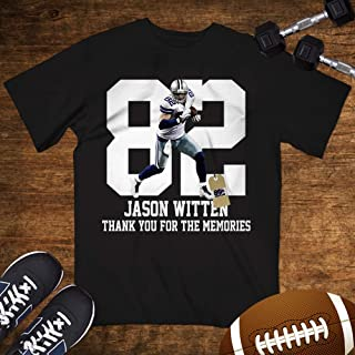 Jason-Witten No.82 Shirt Dallas Football Thank-You For The Memories Customized Handmade Hoodie/Sweater/Long Sleeve/Tank Top/Premium T-shirt