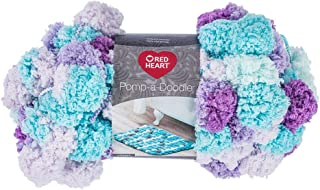 RED HEART Pomp-A-Doodle Yarn, Lilac Breeze